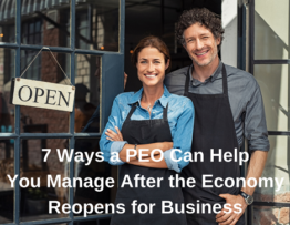 Reopen Business With a PEO
